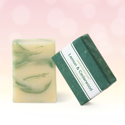 Lemon & Cedarwood Aromatherapy Soap