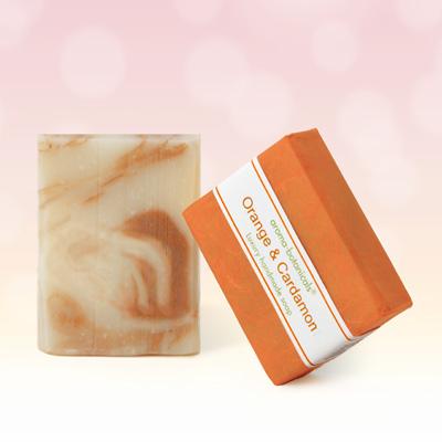 Orange & Cardamon Aromatherapy Soap