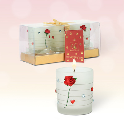 Red Rose Votive Triple Pack