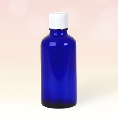 50ml Blue Glass Bottles