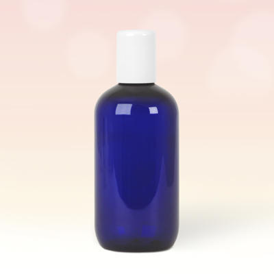 250ml Cobalt Blue Plastic Bottle