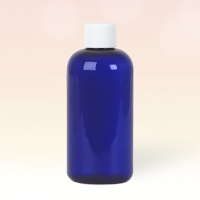 100ml Cobalt Blue Plastic Bottle