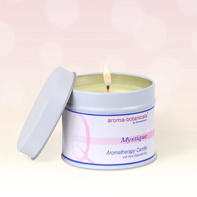 Aroma-botanicals 'Mystique' Tin Candle