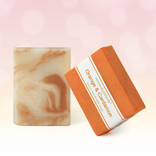 Orange & Cardamon Aromatherapy Soap