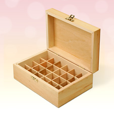 Wooden Aromatherapy Oil Storage Boxes Quinessence Aromatherapy