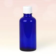 50ml Blue Glass Bottles
