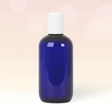 250ml Cobalt Blue Plastic Bottle