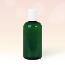 250ml Emerald Green Plastic Bottle