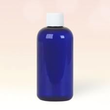 100ml Cobalt Blue Plastic Bottle