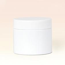 50ml Single Wall White Plastic Jar