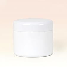30ml Double Wall White Plastic Jar