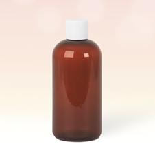 250ml Amber Plastic Bottle