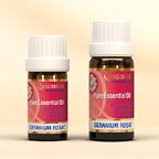 Géranium Rosat Essential Oil - Certified Organic