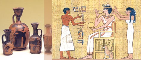 The History of Aromatherapy | 3,500 BC to 199 AD)