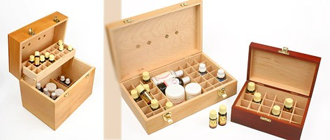 Essential Oil Storage Boxes