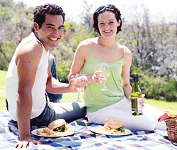 Insect repellent essential oils help you enjoy your picnic!