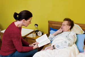 Complementary therapies ease stress for hospice patients and caregivers