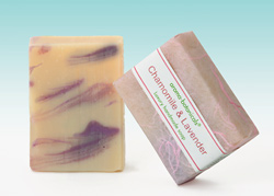 Chamomile & Lavender Soap for sensitive skin