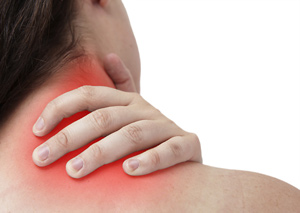 Ease neck pain with a massage