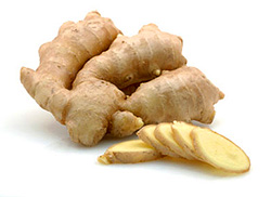 Ginger essential oil is extracted from the roots