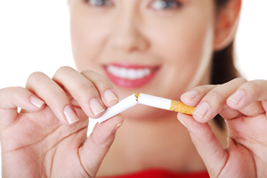Success when quitting smoking depends on age, gender and social advantage