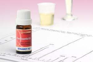 Testing essential oils with GLC