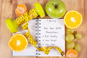 A list of New Year Resolutions