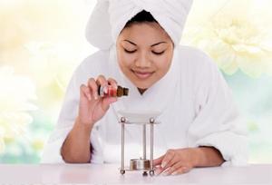 Adding essential oils to a vaporizer