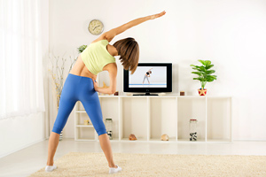 Skip the gym and exercise at home!