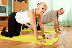 Exercise makes you look years younger