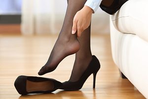 High heels can cause serious problems with your feet
