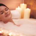 An aromatherapy bath can beat the winter blues