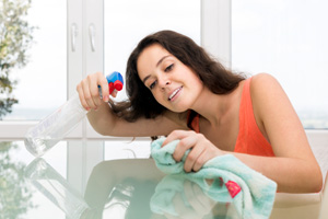 Use your essential oils around the house when you are cleaning