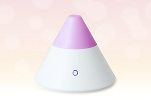 The Zenbow ultrasonic aroma diffuser for essential oils