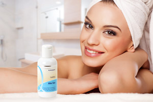 Luxury After-Sun Lotion from Quinessence