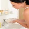 Aromatherapy treatments for over-washed dry hands